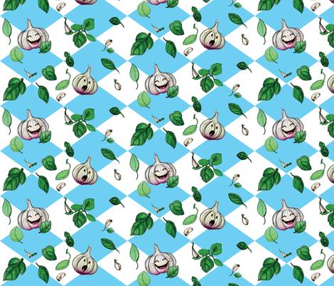 Garlicious fabric by zeona_van_de_water on Spoonflower - custom fabric