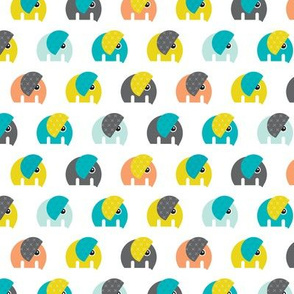 Cute baby elephant parade boys theme Small