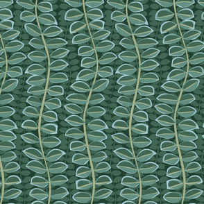Pea leaves (large)