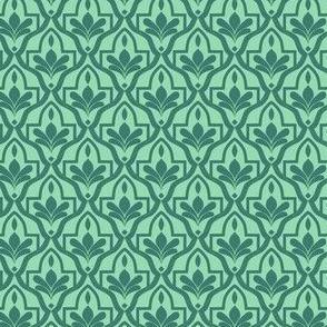 Fes tiles in morocco