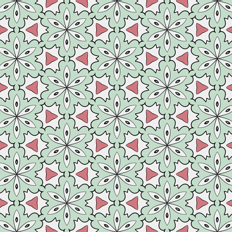 Color Bloom - Collection 3 - Pattern 12 fabric by phenompixels on Spoonflower - custom fabric