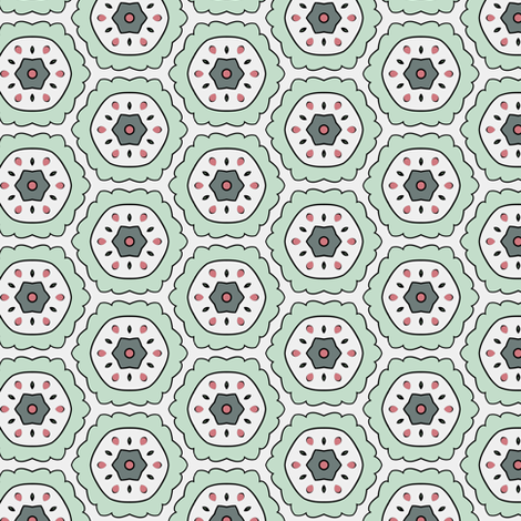Color Bloom - Collection 3 - Pattern 15 fabric by phenompixels on Spoonflower - custom fabric