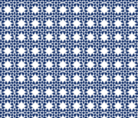 ASIM_IKAT_INDIGO fabric by ginger&cardamôme on Spoonflower - custom fabric