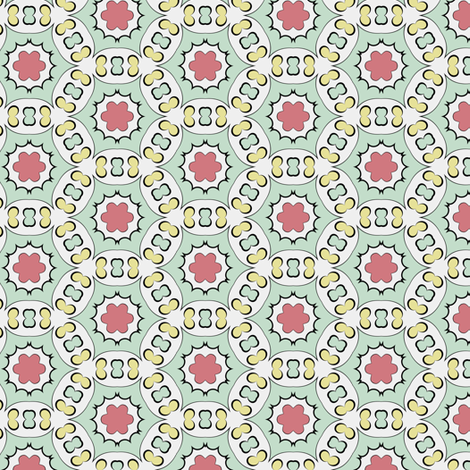 Color Bloom - Collection 3 - Pattern 30 fabric by phenompixels on Spoonflower - custom fabric