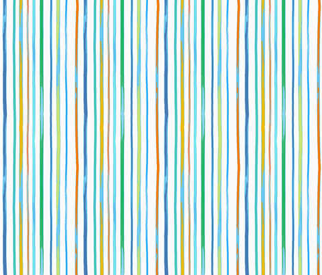 fun circus stripes fabric by designed_by_debby on Spoonflower - custom fabric