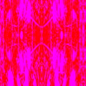Pink grasses batik style