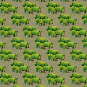 The Herd on Linen for Dinner
