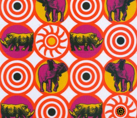 Endangered! Rhino and Elephant