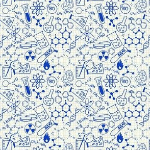 Chemistry Quirky Nerdy Blue