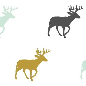 Multi Deer // Woodland Collection