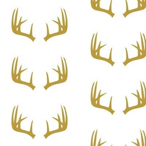 golden antlers // woodland collection