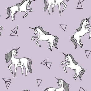unicorn // cute purple unicorns pastel unicorn girls sweet unicorn fabric