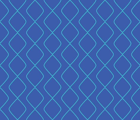 Blue Diamonds fabric by ariel_lark_designs on Spoonflower - custom fabric