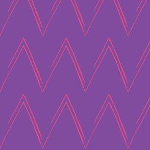 Pink and Purple Chevron