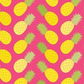 Pineapple Chevron
