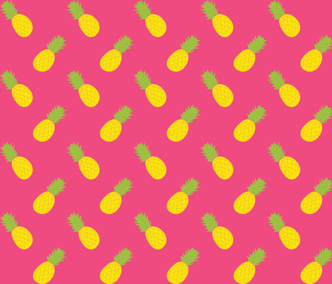 Pineapple Angles fabric by ariel_lark_designs on Spoonflower - custom fabric