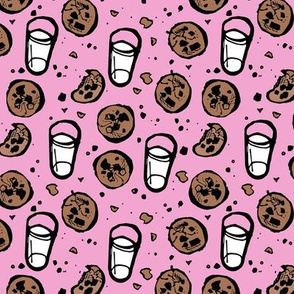 Milk and Cookies (Pink)