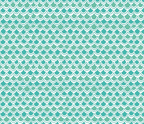 fun waves fabric by lifeisswell on Spoonflower - custom fabric