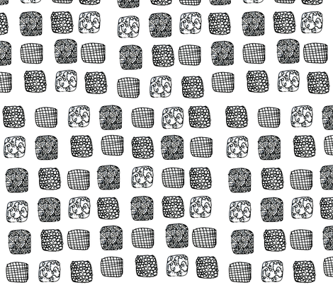 Zen Cubes  fabric by vibrantkicks on Spoonflower - custom fabric