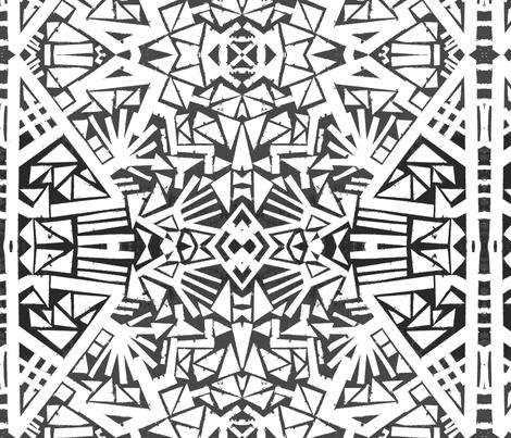 Aztec fabric by vibrantkicks on Spoonflower - custom fabric