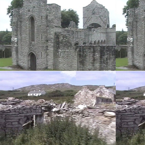 Ireland Castle and Rubble