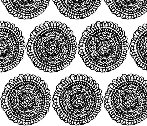 Centered  fabric by vibrantkicks on Spoonflower - custom fabric