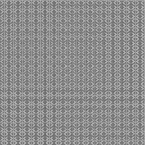 ChevronDarts - Light Grey on Dark Grey fabric by rhondadesigns on Spoonflower - custom fabric