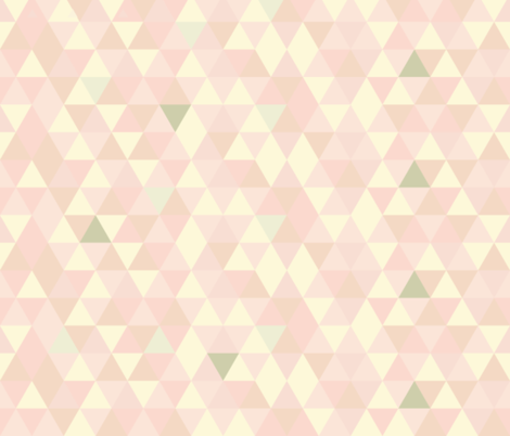 Geometric - Skin Tones fabric by lottiefrank on Spoonflower - custom fabric