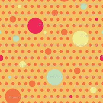 Paisley Garden Polka Dot
