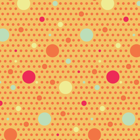 Paisley Garden Polka Dot fabric by jmckinniss on Spoonflower - custom fabric