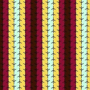 birds foot stripe