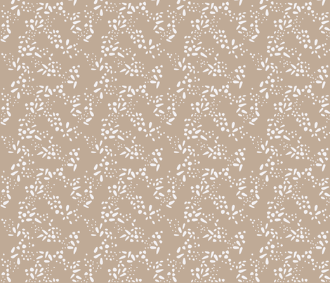 Beige Negative Seeds fabric by pinky_wittingslow on Spoonflower - custom fabric