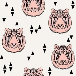 Tiger - Pale Pink by Andrea Lauren