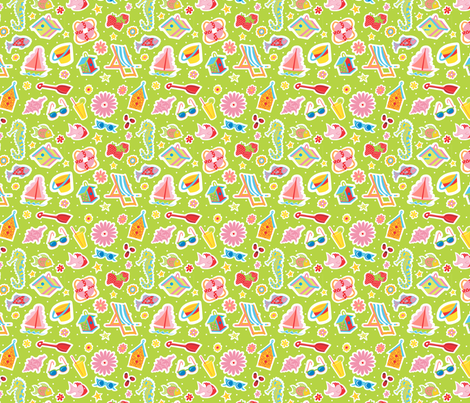 Summer_Fun1 fabric by julistyle on Spoonflower - custom fabric