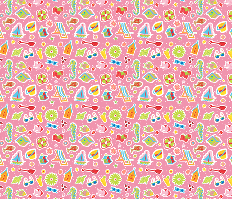 Summer_Fun2 fabric by julistyle on Spoonflower - custom fabric