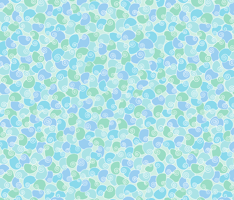 periwinkle pile (zoom for detail) fabric by jenniferpanepinto on Spoonflower - custom fabric