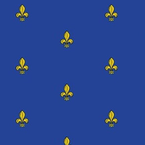Half-inch Royal French Fleur de Lis