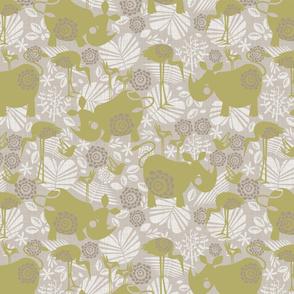 happy green rhinos