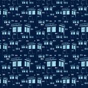 Police Box Blue
