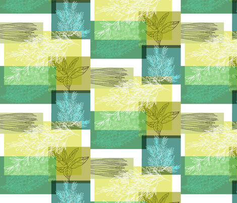 herblines fabric by amyjeanne_wpg on Spoonflower - custom fabric