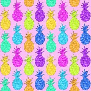 Pineapple Sparkle Pink Multi!