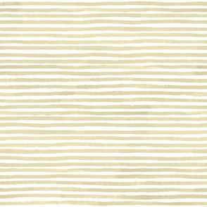 Neutral Tan Watercolor Stripes Small