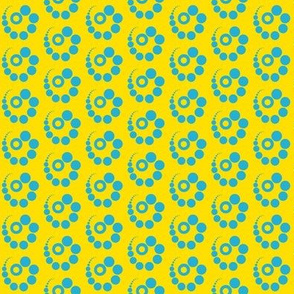 Dot Swirl Blue