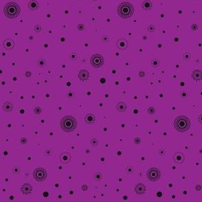 Purple Dippity Dots