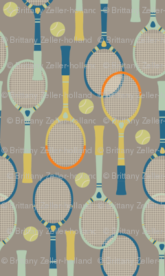 Belle Isle Vintage Tennis Large