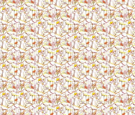 Anemone fabric by ala_naimi on Spoonflower - custom fabric
