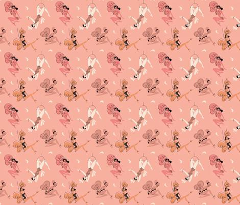 showgirls fabric by neryl on Spoonflower - custom fabric