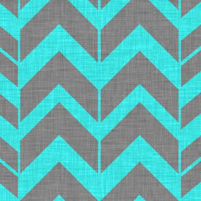 Rough Chevron-GreyBlue