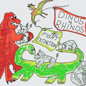 Dinos 4 Rhinos(Large)