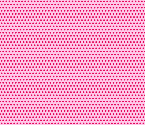 polka dot pink fabric by vickythorndale on Spoonflower - custom fabric